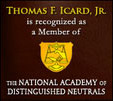 Thomas Icard National Academy of Distinguished Neutrals