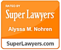 Alyssa Nohren Super Lawyers