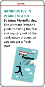 Bankruptcy in Plain English book