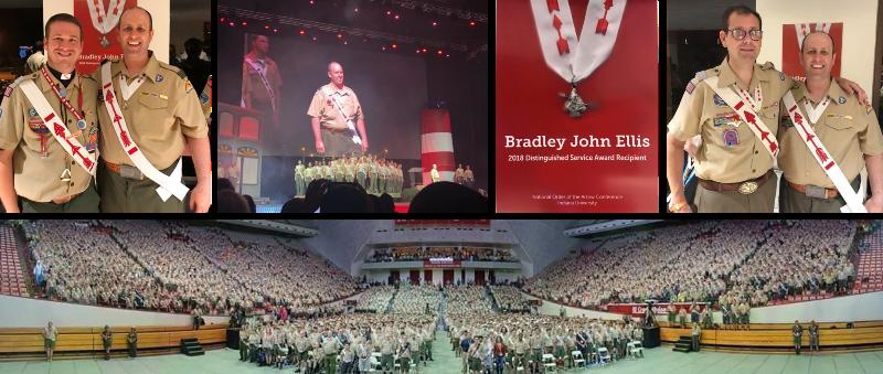 Bradley Ellis Presented with Distinguished Service Award