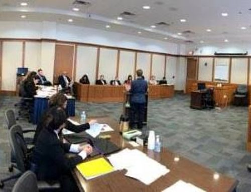Icard Merrill Sponsors SCBA High School Mock Trial Competition