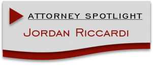 Attorney Spotlight Jordan Riccardi