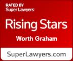 Worth Graham Super Lawyers Rising Star