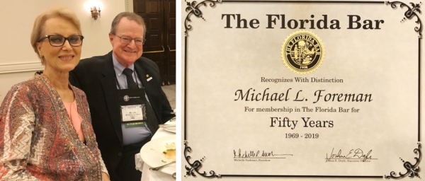 Attorney Mike Foreman honored by FL Bar