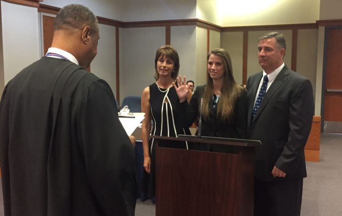 Nicole M. Price Sworn In