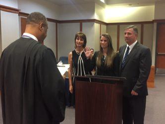 Nicole M. Price Sworn In