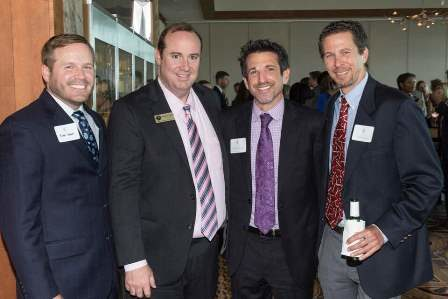 FAWL - Judicial Reception - Ryan Owen, Judge Hunter Carroll, Scott Westheimer, Jason Lessinger
