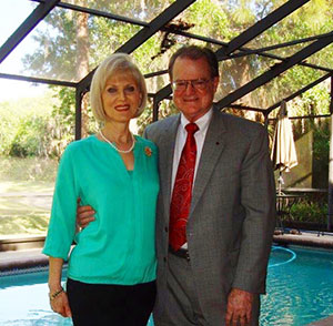 Me and my beautiful wife, Lynne, who is a paralegal