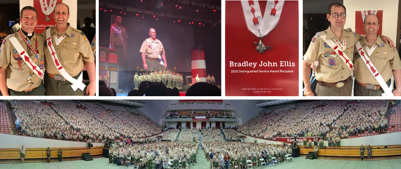 Bradley Ellis Presented with Distinguished Service Award