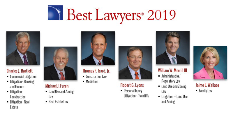 Six Icard Merrill attorneys have been selected for the 2019 Edition of The Best Lawyers in America