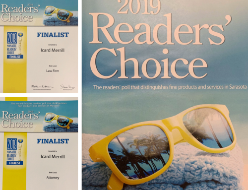 Icard Merrill Recognized in Herald Tribune's 2019 Readers Choice