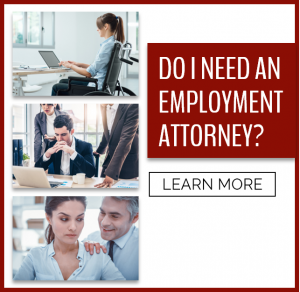 Do I need an employment attorney?