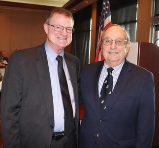 Mike Foreman and The Honorable Lee E. Haworth