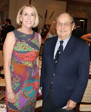 Jaime Wallace and The Honorable Lee E. Haworth