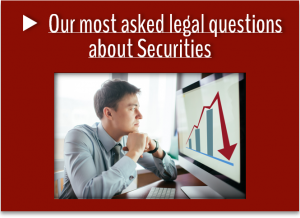 Our most asked questions about Securities