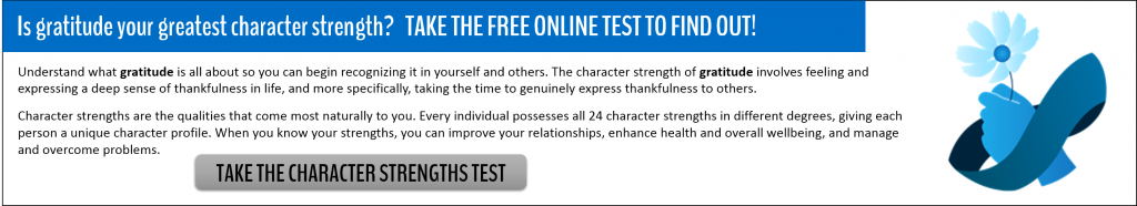 Character Strengths Test