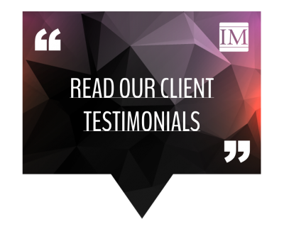 Read our client testimonials