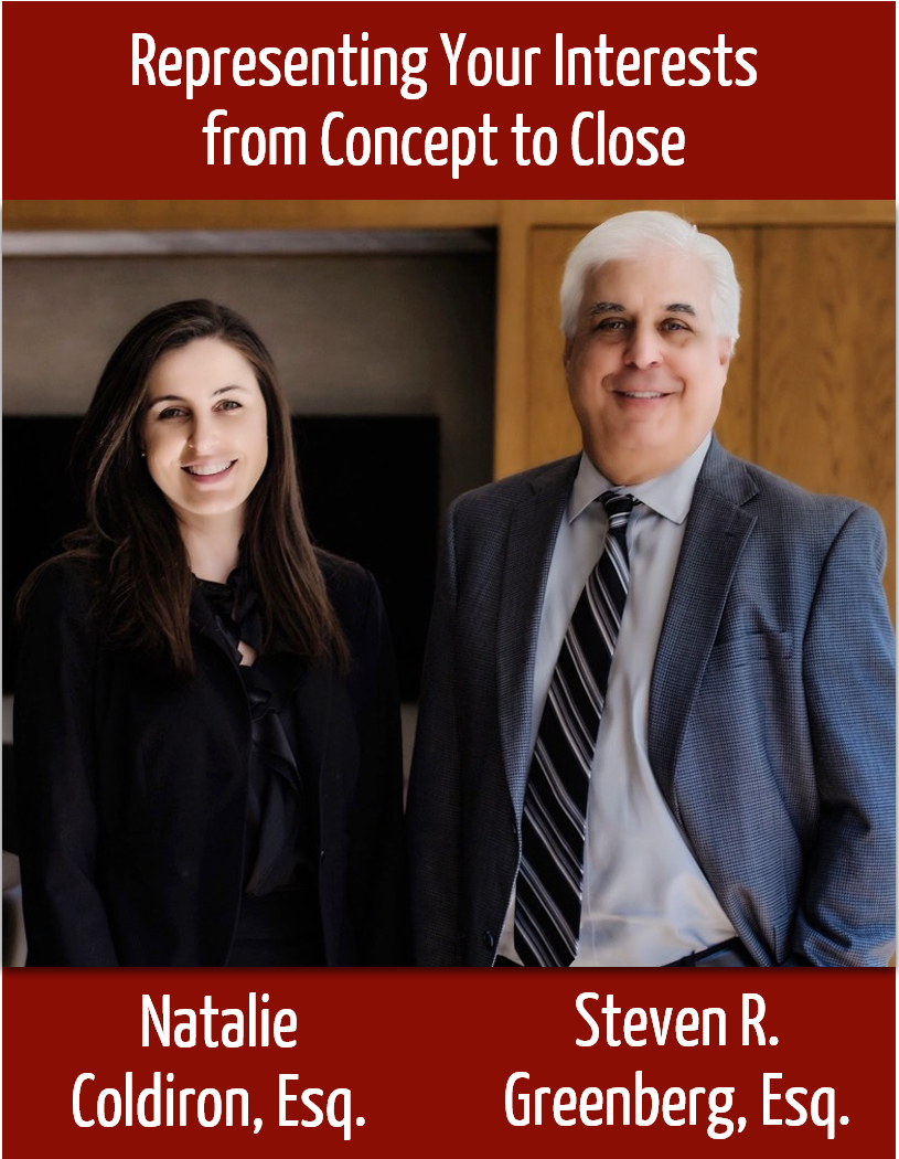 Natalie Coldiron and Steve Greenberg