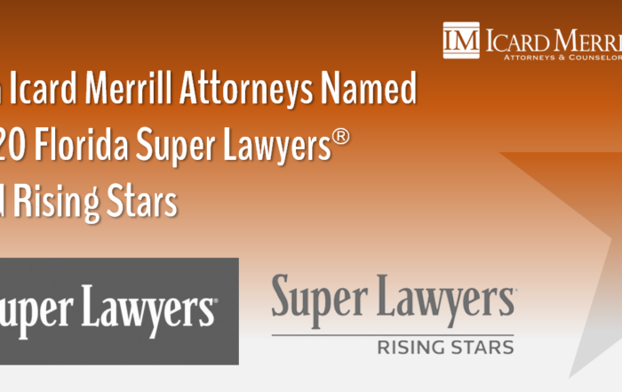 Icard Merrill - 2020 Super Lawyers