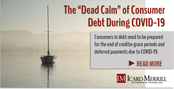 Dead Calm of Consumer Debt
