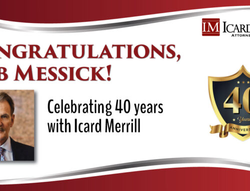 Bob Messick Celebrates 40 Years of Service