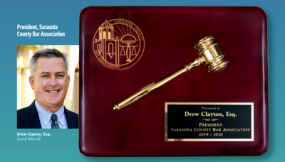 Drew Clayton Sarasota County Bar Association