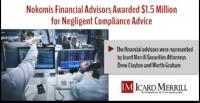 Nokomis Financial Advisors Awarded $1.5 Million for Negligent Compliance Advice